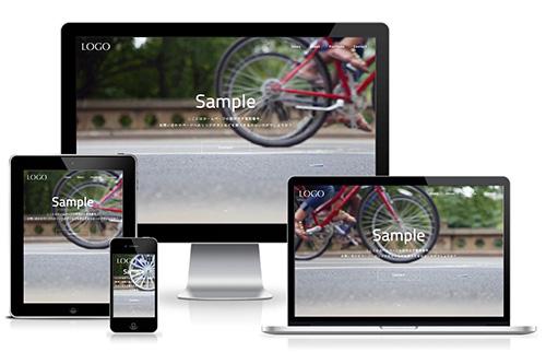 ホームページ制作大阪エムラボのレスポンシブデザインテンプレート019